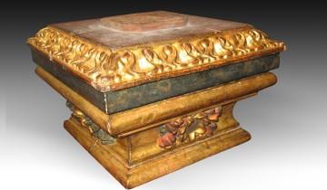 Comprar peanas y bases de madera para santos